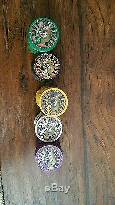 Nevada Jack Poker Chip Set