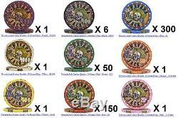 Nevada Jack Poker Chips Set (511 Count)
