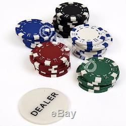 New Professional Poker Chips Texas Hold'em Set Casino Play cards Pokerstars 11.5