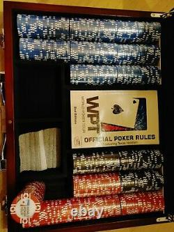 NewWorld Poker Tour 400 Piece 11.5 Gram Official WPT Clay Chip Set with Case