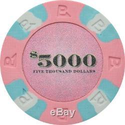 NexGen Set 564 Poker Chips 9-gram Clay Composite Casino Style 40mm