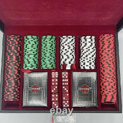 Odyssey Poker Set With Chips, Dice & Cards (# 1 Putter Chips / Golf Markers)