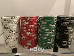 Over 1000 Newcastle Resort & Casino Chipco Poker Chip Set