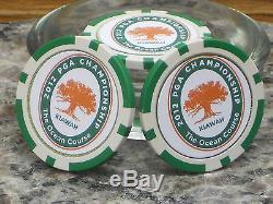 PGA 2012 Championship Ball Marker Poker Chip- Three per Set