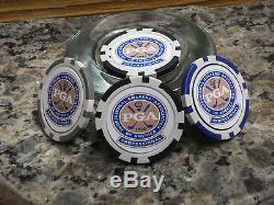 PGA Ball Marker Poker Chip- 3 Mixed Chips per Set