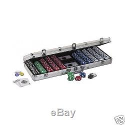 POKER CHIPS SET TEXAS HOLD'EM PROFESSIONAL PLAYER 500 PIECES CASE FREE SHIPPING
