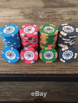 PRICE REDUCED Paulson Scandia Casino Poker Chips Set of 440