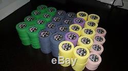 Paulson Authentic Rare WSOP World Series of Poker Tournament Chip Set 560 Count