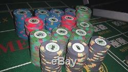 Paulson Casino De Isthmus Poker Chip Set of 293 chips