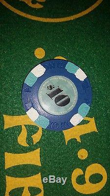 Paulson Classic poker chip set of 399 chips