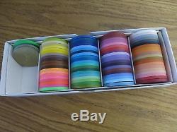 Paulson Color Sample Set Excellent Condition