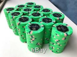 Paulson Horseshoe Cincinnati poker chips (840 ct) cash set