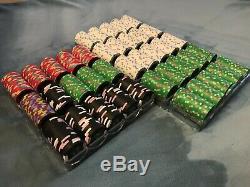 Paulson Jack Detroit casino poker chips (800 count cash set)
