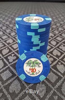Paulson Le Cove Chips 489pc Set $1, $5, $10, $20