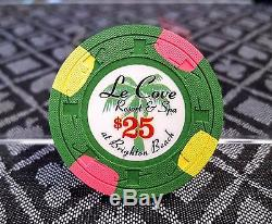 Paulson Le Cove Poker Chips Tournament Set 400 pcs