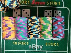 Paulson Pharaoh's Club and Casino 360 Piece Set. Rare hard to find playable set