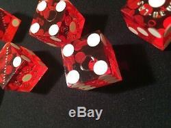 Paulson Poker Chip Set USA Made Box Real Vegas Dice Cherry Casino Cards