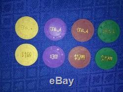 Paulson Poker Chip Set of 2,000 Chips (New)