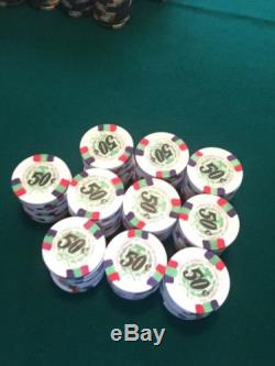 Paulson Poker/bcc Chips Set 900 BN