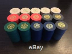 Paulson Starburst Clay Poker Chip Set, 5 Colors, 300 chips