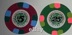 Paulson Top Hat and Cane Casino de Isthmus City 500 piece set 5,25,100,500 1,000