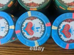 Paulson Top Hat and Cane Garden City Poker Set