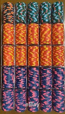 Paulson WTHC Cash set 500 Poker Chip Set World Top Hat & Cane Rare
