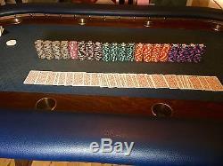 Paulson World Poker Chip Set
