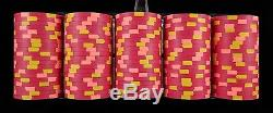 Paulson World Top Hat & Cane WTHC 500 pc Set of Poker Chips