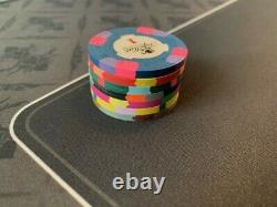 Paulson World Top Hat & Cane (WTHC) Casino Poker Chips Sample Set