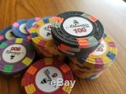 Paulson style Classic poker chips (set of 500)