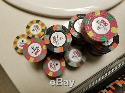 Paulson style poker chips set of 500
