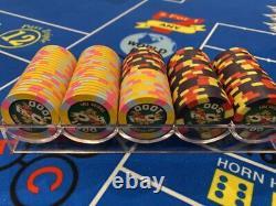 Poker After Dark BCC Poker Chip Set Mint Condition