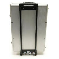 Poker Chip Set 1000 Ct 13.5g Claysmith Desert Heat in Rolling Aluminum Case