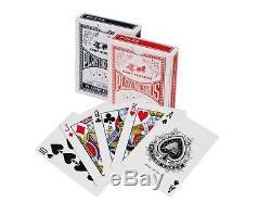 Poker Chip Set Aluminum Case New 500 Chips w Cards Texas Holdem Dealer Button
