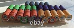 Poker Chips 800 set ceramic