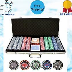 Poker Chips Set 11.5g 500pc Casino Ace