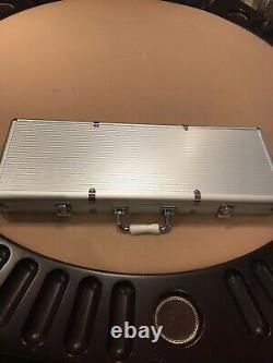 Poker Set With Aluminum case