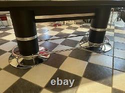Poker Table & Chip Set