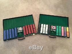 Poker chip set 1000