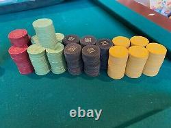 Poker chips- Mason and Company, Hub Mold, Vintage