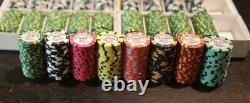 Poker set céramique ABC World Poker Series Tribute 600 jetons / chips