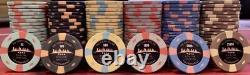 Post Oak Poker Club Tournament Poker Chip Set
