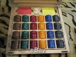 RARE Authentic FERRARI Poker Chips Set Game Box NEW