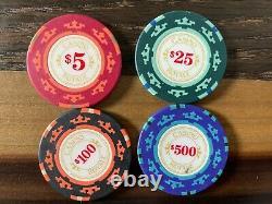 RARE Cartamundi Casino Royale James Bond Luxe Poker Set
