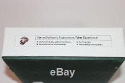 RARE! Chris Moneymaker, Marine Osprey 300pc Auth. 11.5g Poker Chip Set WSOP 2003