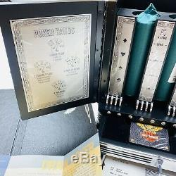 RARE Harley Davidson Franklin Mint Collector's Poker Set Mint