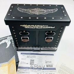 RARE Harley Davidson Franklin Mint Collector's Poker Set Mint