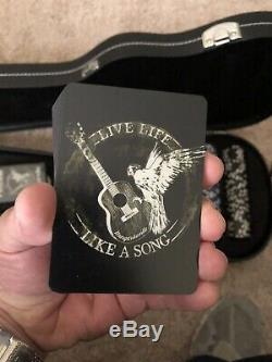 RARE Jimmy Buffet Margaritaville Guitar Poker Set Limited Edition- FREE Shipping