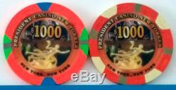 RARE President New Yorker Paulson, COMPLETE Sample Set, MINT, incl. BOTH 1000s